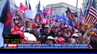 Thousands gather in D.C. to 'make elections fair again