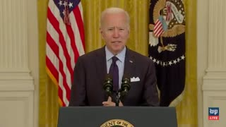 Biden Laughs As DISASTER April Jobs Report Comes Out