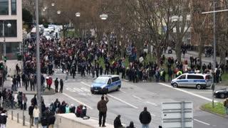 Demonstration in Wiesbaden