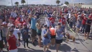 Florida Trump Peaceful Protest Goers.