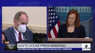 "White House Press Secretary finally ""circles back"""