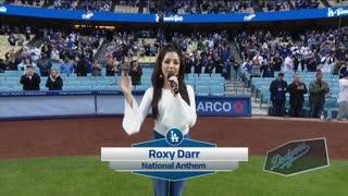 NATIONAL ANTHEM GIRL SING OUR NATIONAL ANTHEM
