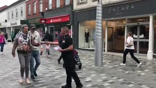 Britain First day of action in Lisburn