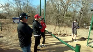 Sporting Clays with family and friends