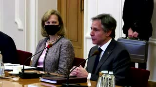 Blinken visits Kyiv after Russia stand-off