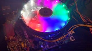 Rainbow PC Fan