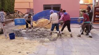 Egyptian Concrete Mixing