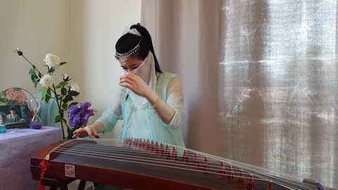 吴静-《女儿情》#古筝Guzheng Cover# Zither Melody