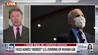 """Fauci Admits """"MODEST"""" U.S. FUNDING OF WUHAN LAB"""