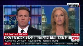 WH counselor Kellyanne Conway fires back at former acting FBI Director Andrew McCabe