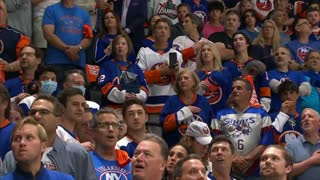 National Anthem Singer Shocked When ENTIRE STADIUM Joins In at NHL Match