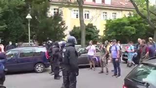 Germany: Clashes as COVID-sceptics protest in Berlin.