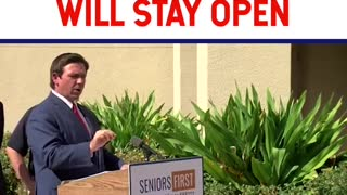 Governor Ron Desantis On Why Florida Stayed Open & Will Stay Open!