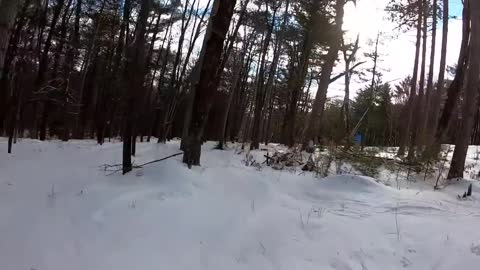 Spring skiing in New Hampshire