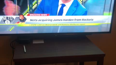 James Harden to the NETS