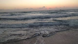 Early morning waves