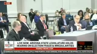 Arizona Election Fraud allegations hearing!