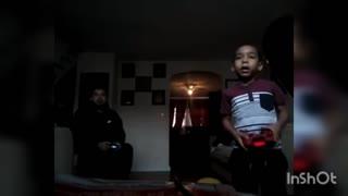 Got caught on video