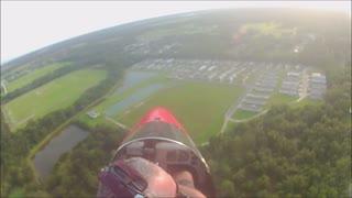 drifter LSA take off from grass runway