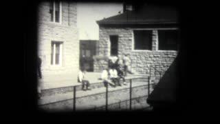 Scenes from Trinidad State Junior College, Colorado, in 1949