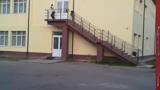 Basketball Trick Shot 1