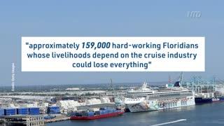 DeSantis, Florida Sue Over Cruise Industry
