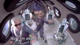 Richard Branson on space flight!!