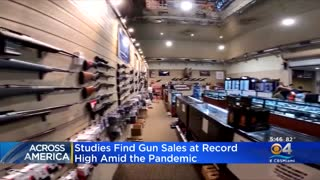 GUN SALES ON TRACK FOR ANOTHER RECORD YEAR