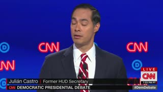 Dem debates: Castro on impeaching Trump