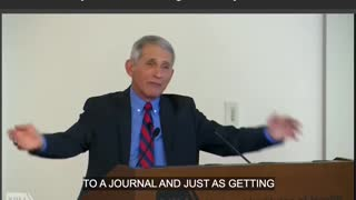 FLASHBACK: Fauci Discusses Lifting NIH Funding Ban on Gain-of-Function Research