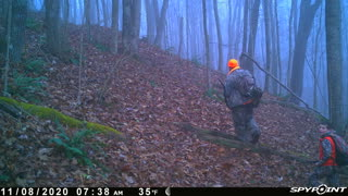 Pappy Hunting with Grandson