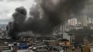 Incendio en Bucaramanga segundo vídeo