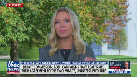"""Press Sec McEnany GOES OFF on Debate Commission for New """"Mute"""" Policy"""