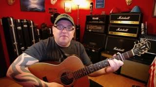 Acoustic Guitar Lesson - Wildflower by Skylark