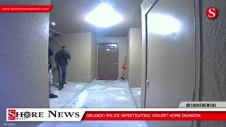 Orlando Police Investigate Home Invasion
