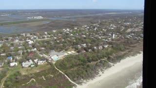 Flying Over Historic Charleston South Carolina