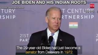 When Joe Biden spoke about his 'Indian'connection