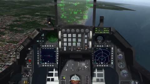 BMS Falcon4 running laps