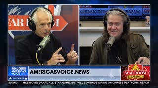 Bannon and Navarro Go on Epic Rant Against 'Father of the Virus' Dr. Fauci