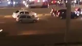 Video: Caravana de motociclistas generó caos la noche de este viernes en Bucaramanga y el área