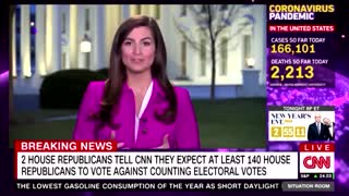 CNN PANIC: 140 House Republicans to Vote Against Counting Electoral Votes