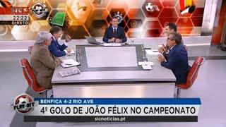 """Rui Santos admite em direto que é do Benfica """"Este é o meu Benfica"""""""