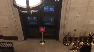 INSANE VIDEO: Trump Supporters Break Doors Into Capitol