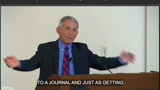 WATCH: Fauci Celebrates Lifting Gain-of-Function Research Ban