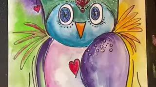 Whimsical Owl Tutorial