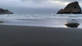 Pacific Ocean is beautiful.