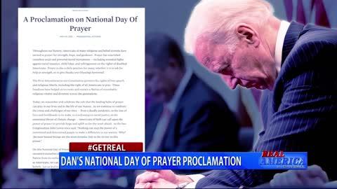 Real America - Dan #GETREAL 'Dan's National Day of Prayer Proclamation'