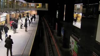 Incredible Time Lapse Video Of People At Subway Station.