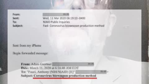 """La prueba definitiva"" COVID-19 un arma biológica"