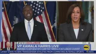 Kamala Harris Agrees with Tim Scott???
